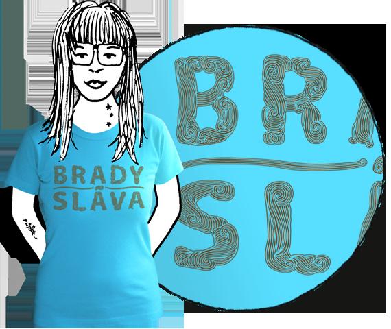 Dámske tričko Bradysláva