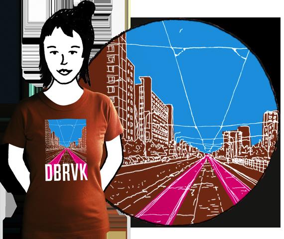 Dámske tričko DBRVK