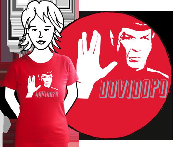 Dámske tričko Dovidopo