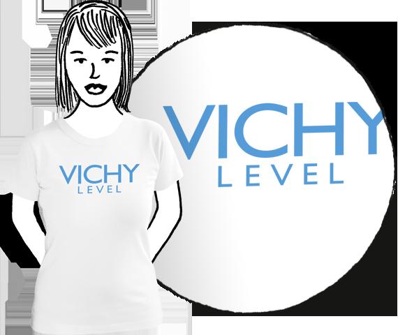Dámske tričko Vichy level