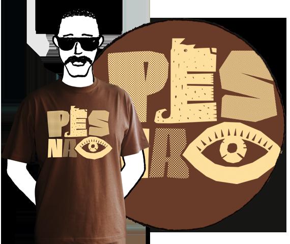 Pánske tričko Pes na oko