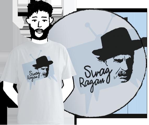 Pánske tričko Swag Ragan