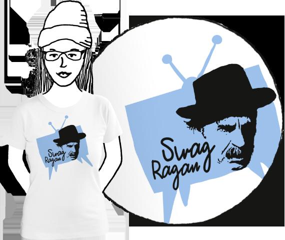 Dámske tričko Swag Ragan