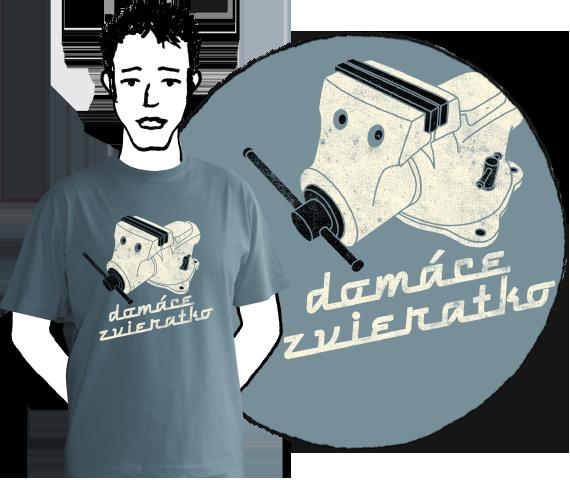 Pánske tričko Domáce zvieratko